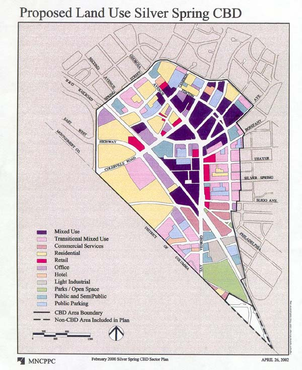 Montgomery Planning: Maps - Silver Spring and Takoma Park